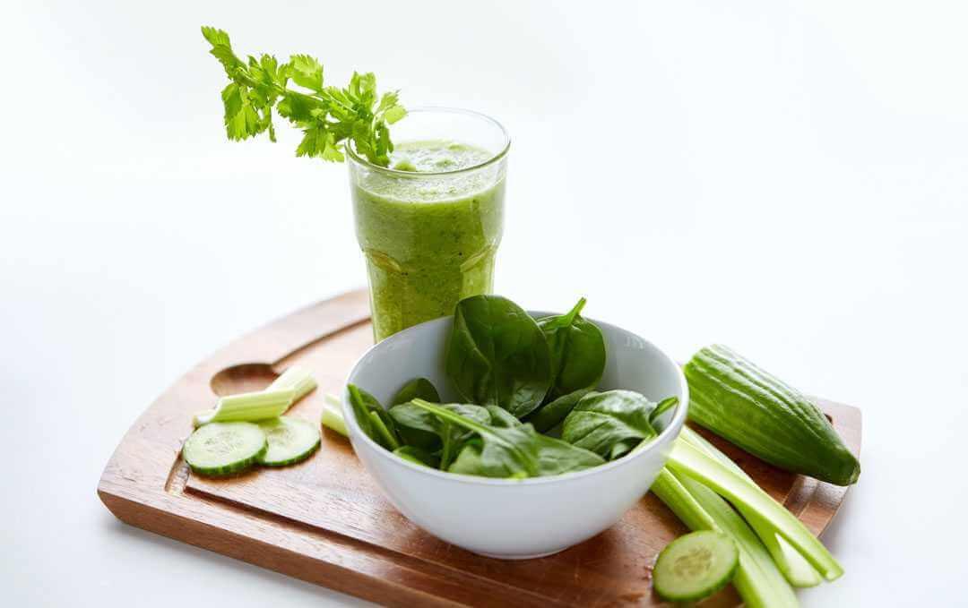 מיץ ירוק כלורופיל